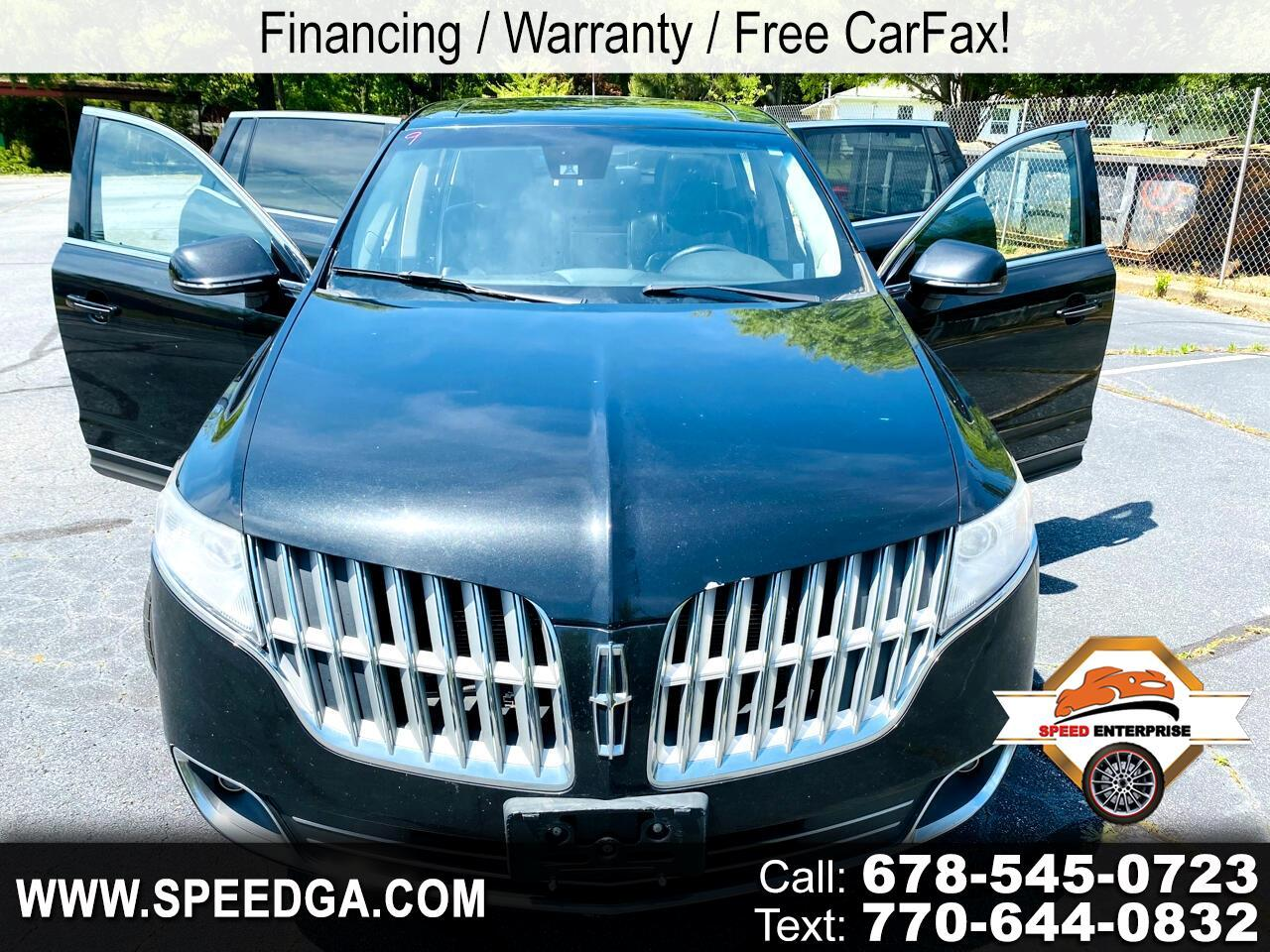 Lincoln MKT 3.5L with EcoBoost AWD 2010