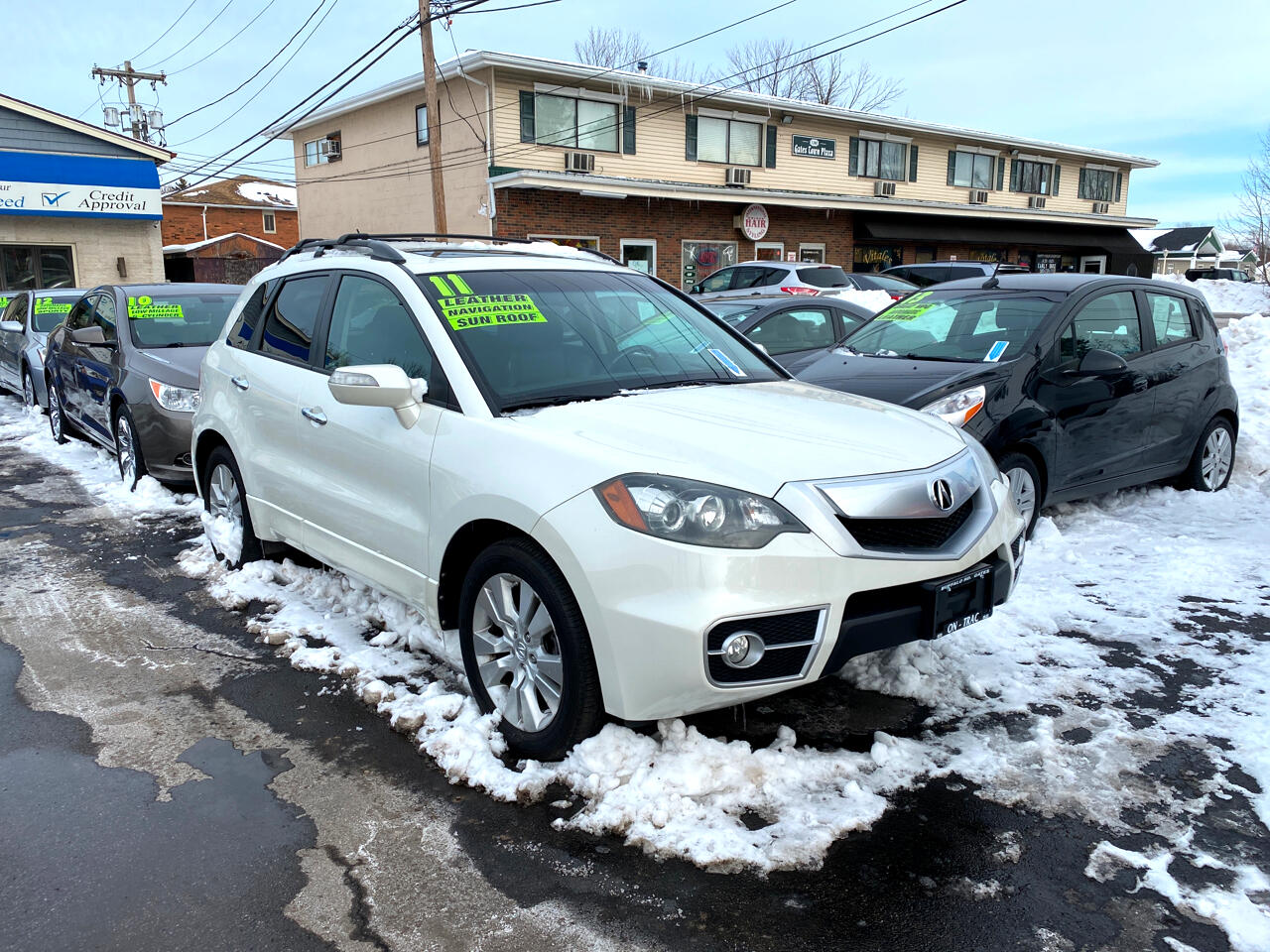 Acura RDX 5-Spd AT SH-AWD with Technology Package 2011