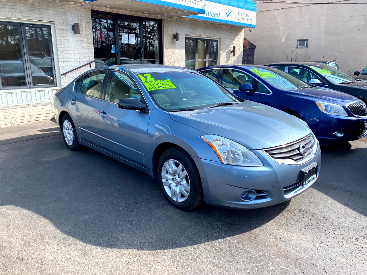 Nissan ALTIMA 2.5 2.5 S 2012