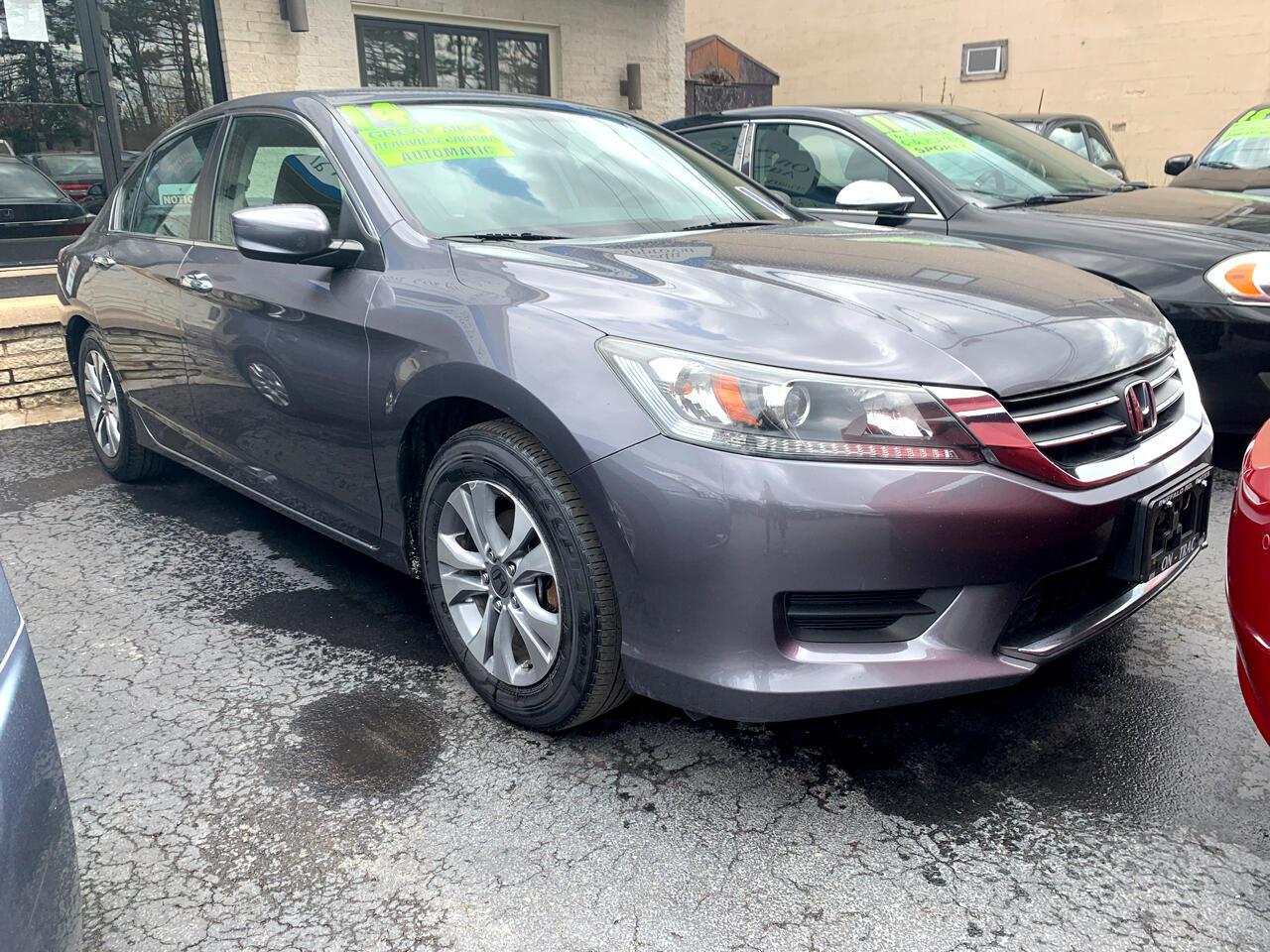 Honda Accord LX Sedan CVT 2014