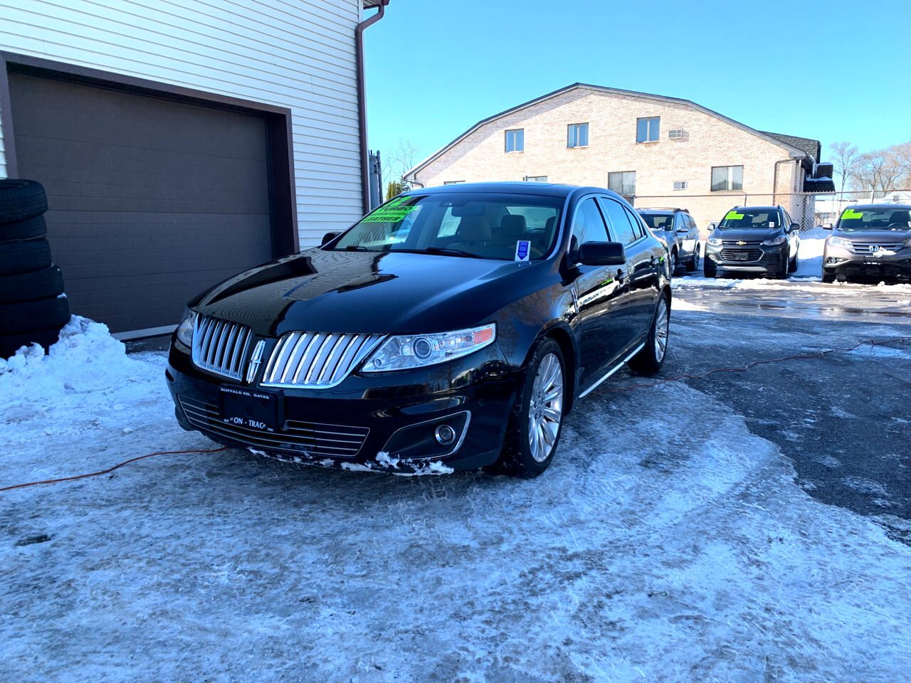 Lincoln MKS 4dr Sdn 3.5L AWD w/EcoBoost 2012