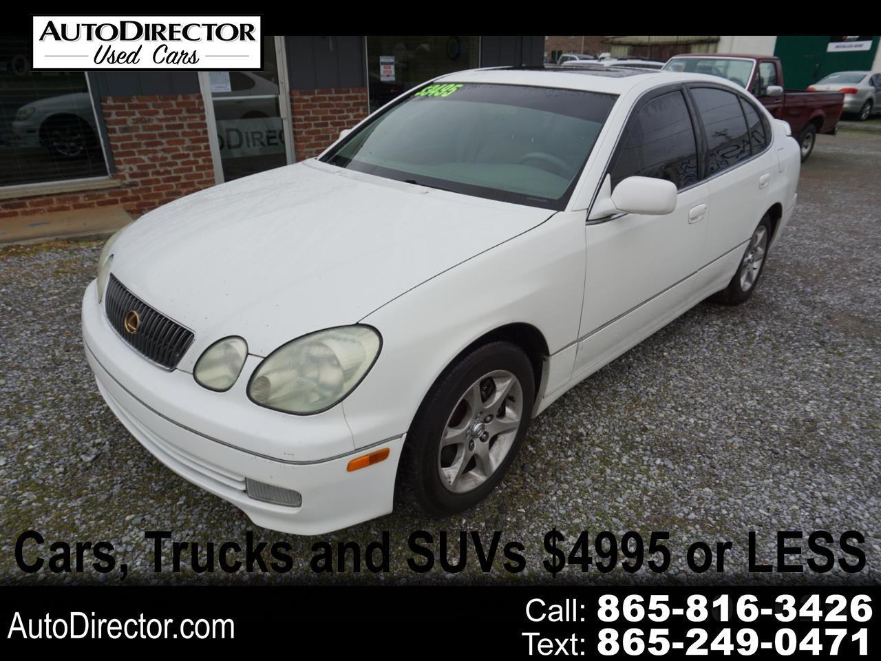 Lexus GS 300 4dr Sdn 2001