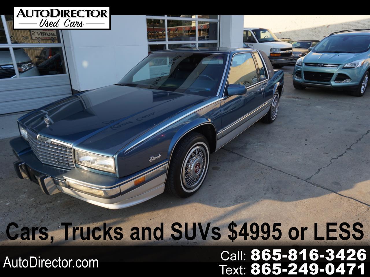 Cadillac Eldorado 2dr Coupe 1991