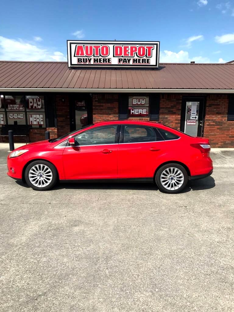 used 2012 ford focus sel sedan for sale in cleveland tn 37311 auto depot llc auto depot llc