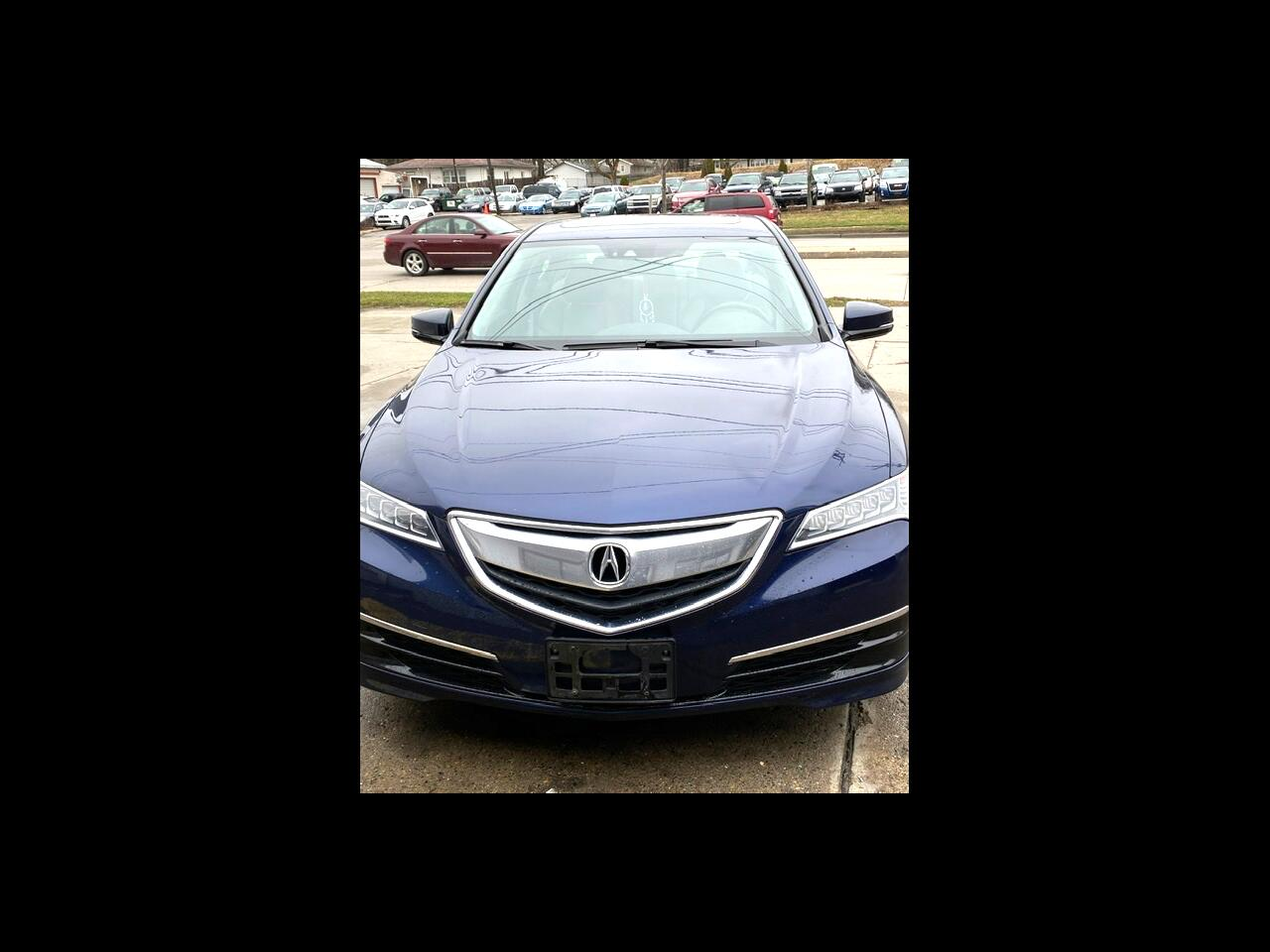 Acura TLX 9-Spd AT SH-AWD w/Technology Package 2015