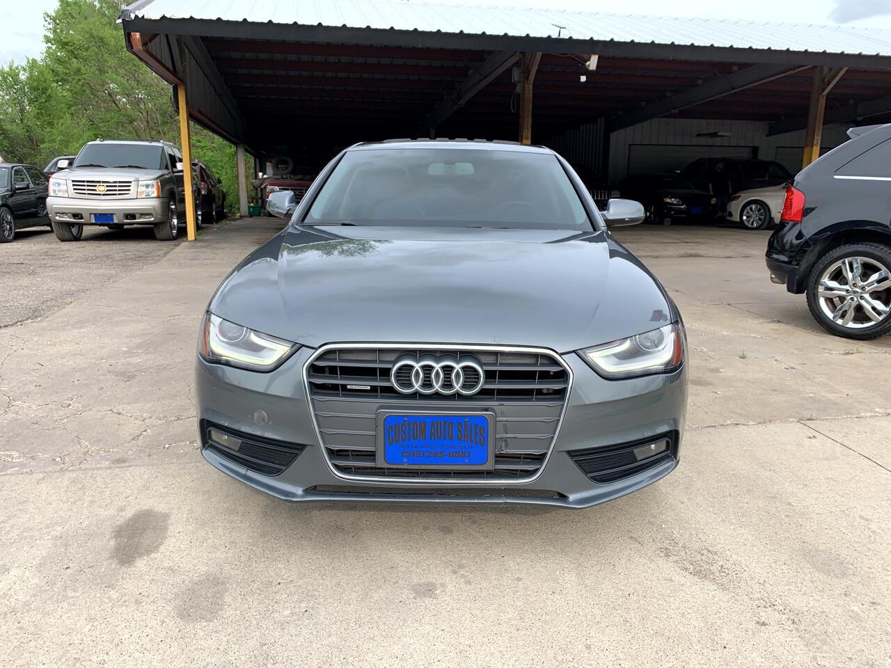 Audi A4 4dr Sdn Auto quattro 2.0T Premium Plus 2013