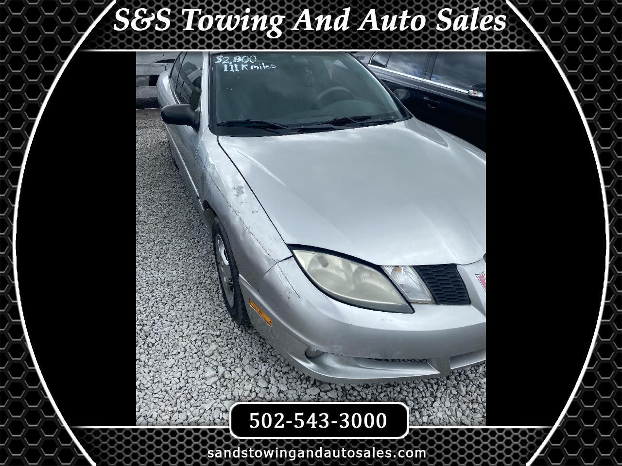 Pontiac Sunfire 2dr Cpe 2005