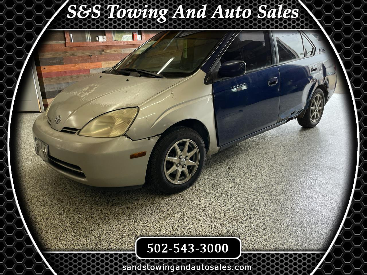 Toyota Prius 4dr Sdn (Natl) 2002