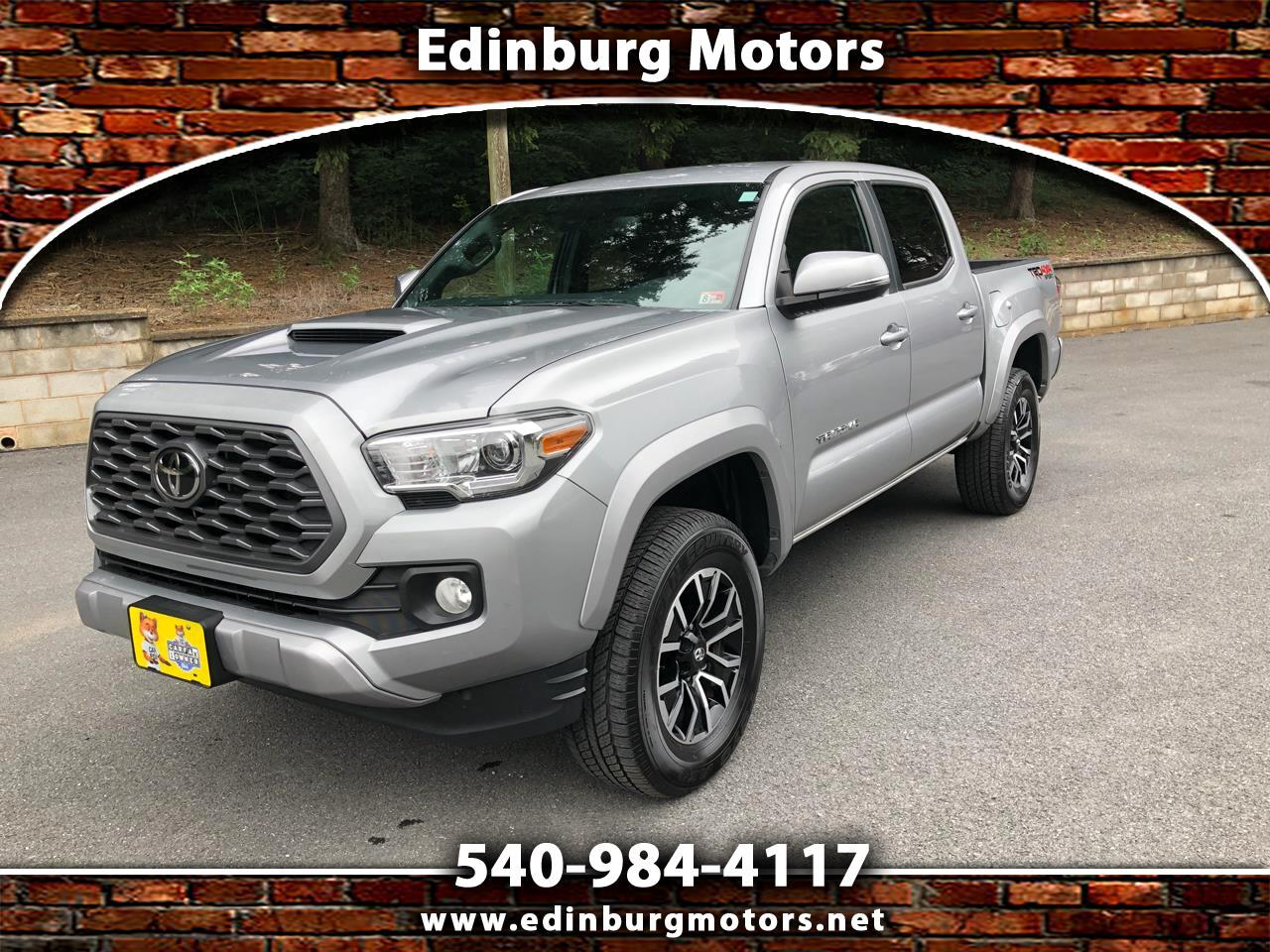 Toyota Tacoma 4WD TRD Sport Double Cab 5' Bed V6 AT (Natl) 2020