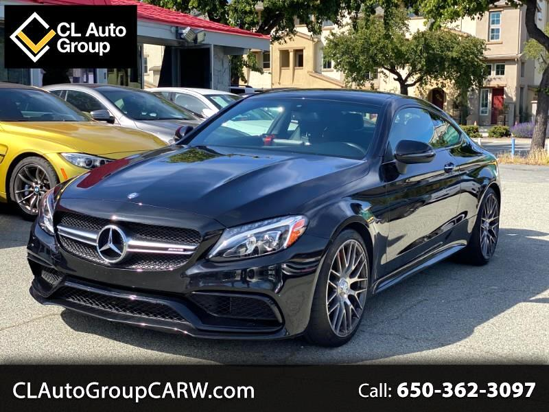 Mercedes-Benz C-Class AMG63 S Coupe 2017