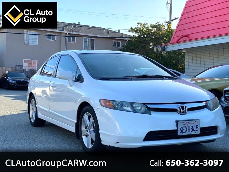 Honda Civic EX Sedan AT with Navigation 2008