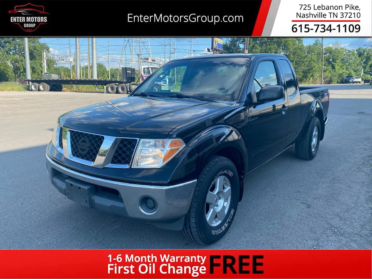 Nissan Frontier 2WD King Cab V6 Auto SE 2008