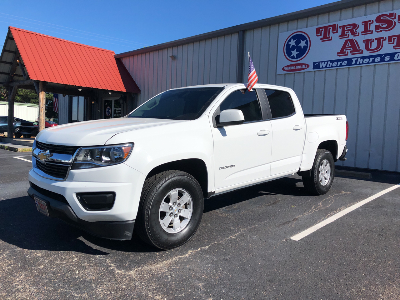 "Chevrolet Colorado 4WD Crew Cab 128.3"" WT 2016"