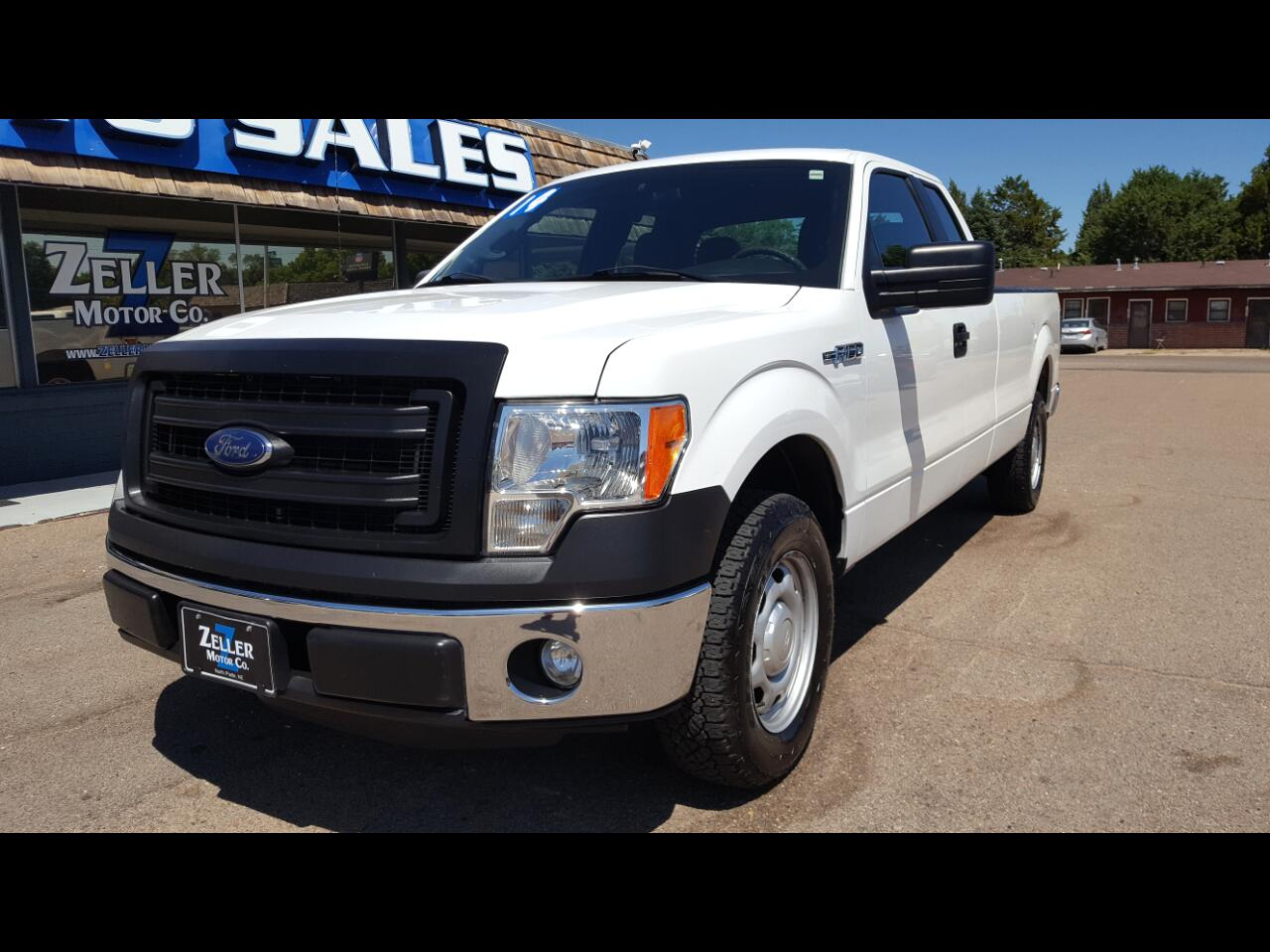 "Ford F-150 2WD SuperCab 163"" XL w/HD Payload Pkg 2014"