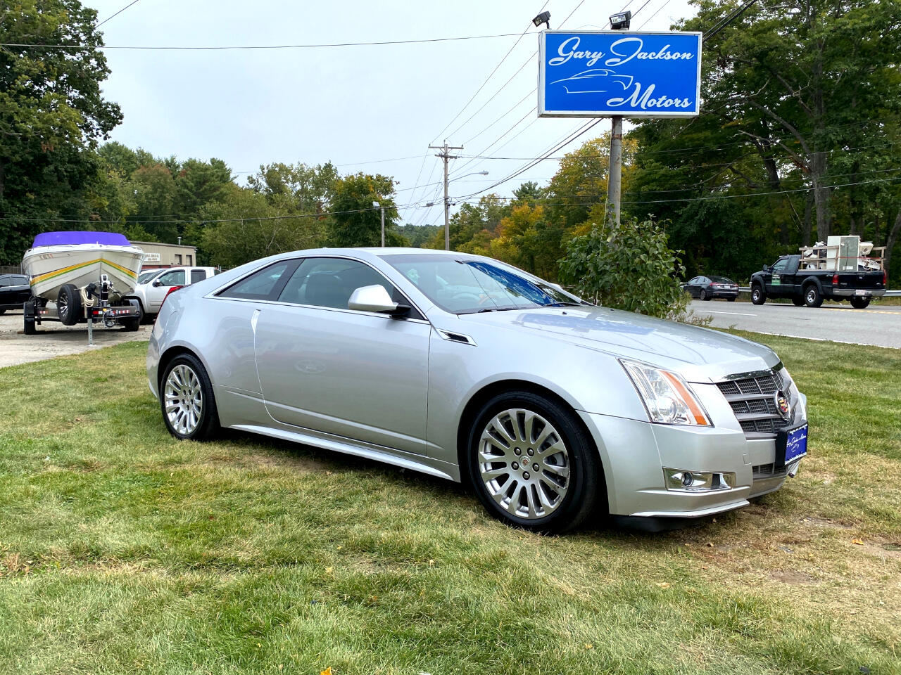 Cadillac CTS Coupe 2dr Cpe Premium AWD 2011