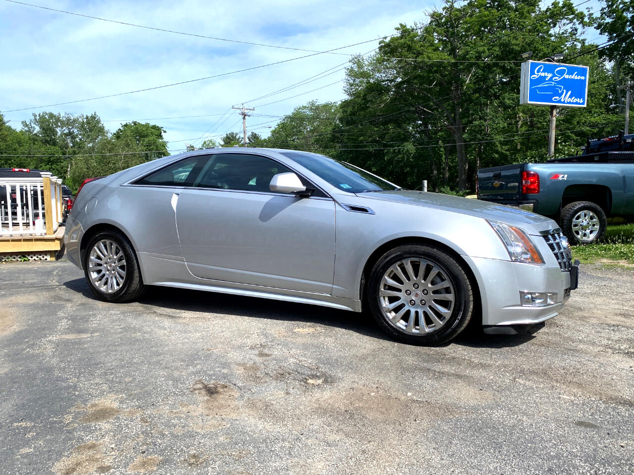 Cadillac CTS Coupe 2dr Cpe Performance AWD 2013