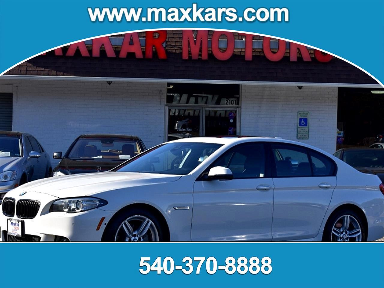 BMW 5-Series 550i xDrive 2016