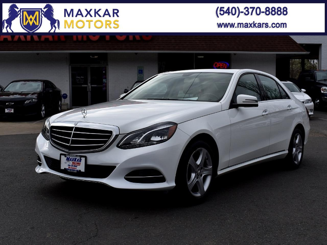Mercedes-Benz E-Class E350 Luxury 4MATIC Sedan 2014