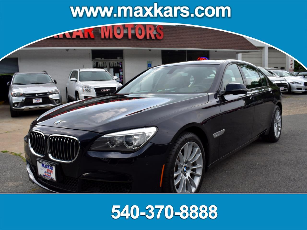 BMW 7 Series 4dr Sdn 750Li xDrive AWD 2014