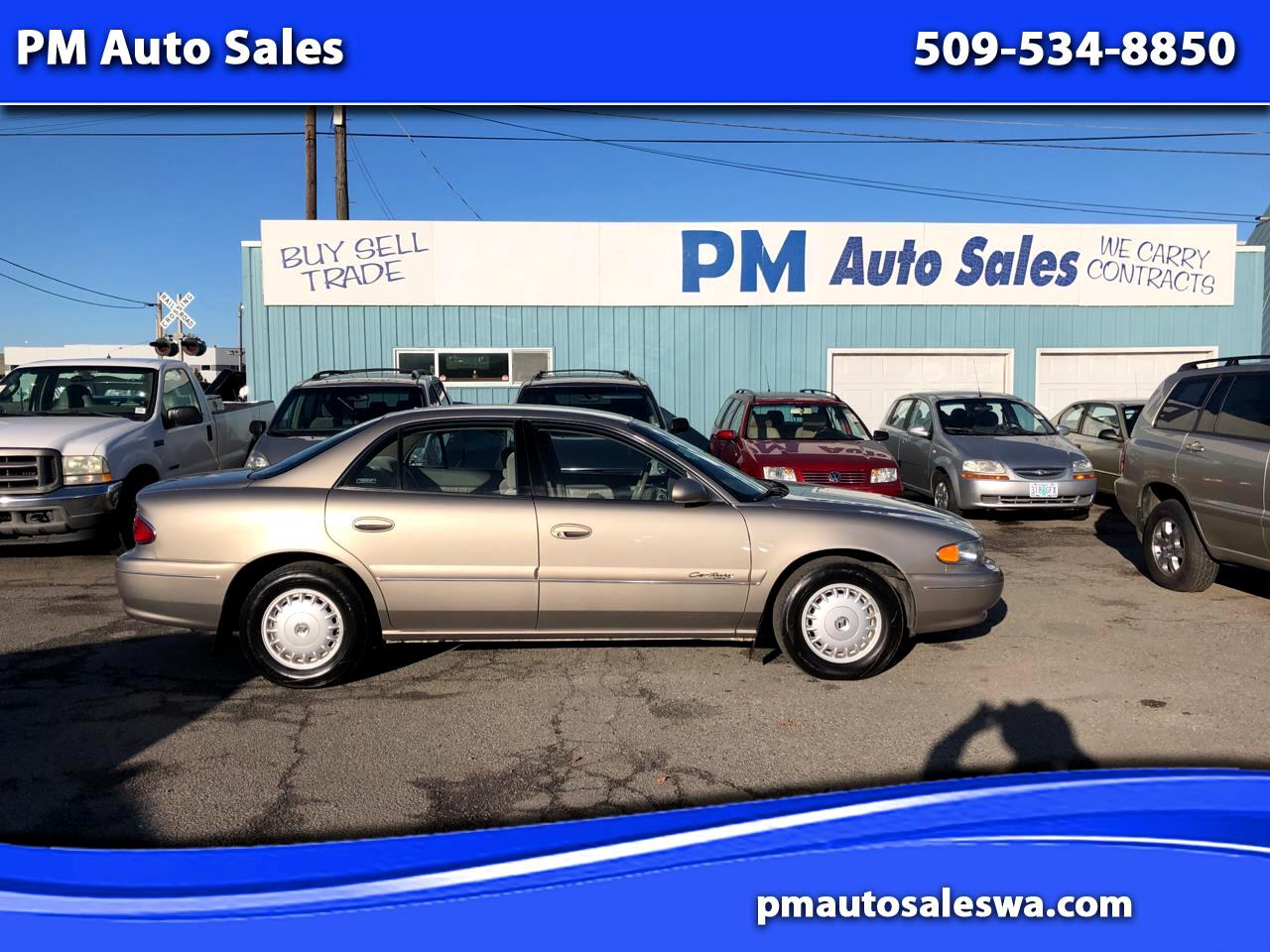 Used 2000 Buick Century Custom For Sale In Spokane Wa 99202 Pm Auto Sales