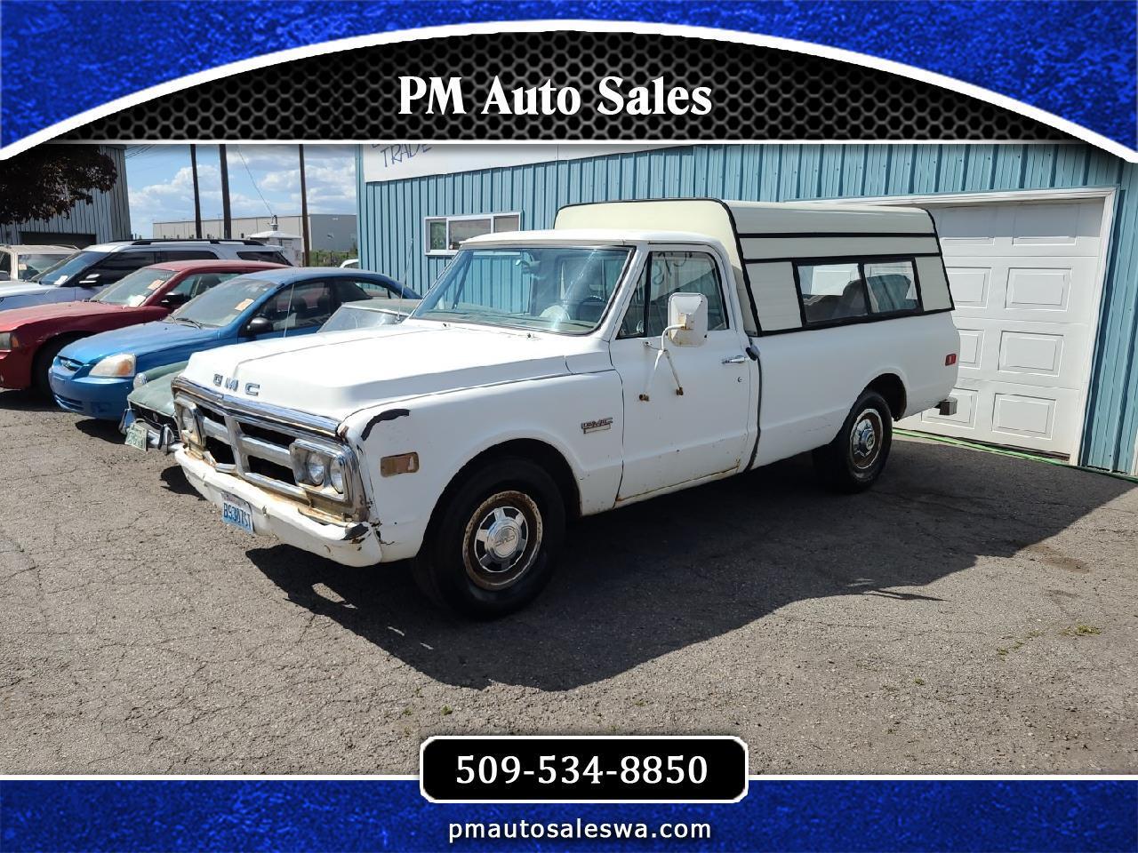 """GMC 3/4 Ton Pickups Fleetside 131.5"""" 1972"""