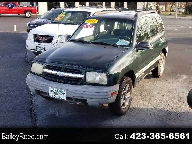 Chevrolet Tracker 4-Door Hardtop 4WD 2002