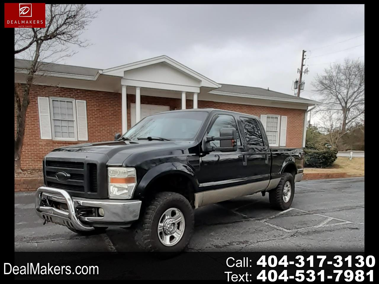 Ford F-250 SD XL Crew Cab 4WD 2008