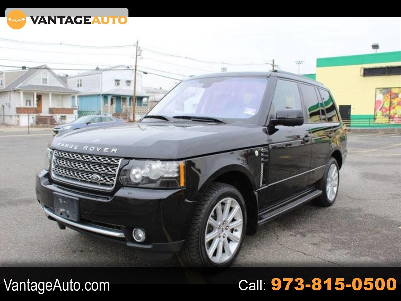 Land Rover Range Rover Supercharged 2012