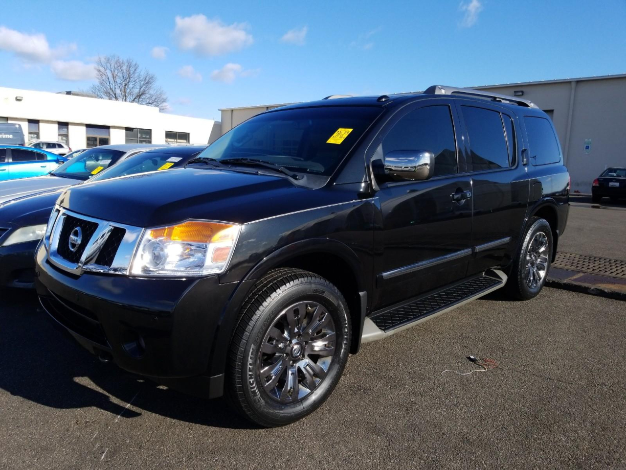 Nissan Armada 4WD 4dr Platinum *Ltd Avail* 2015