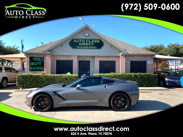 Chevrolet Corvette 2dr Stingray Z51 Cpe w/3LT 2015