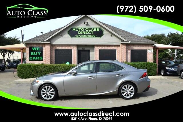 Lexus IS 250 4dr Sport Sdn Auto RWD 2014