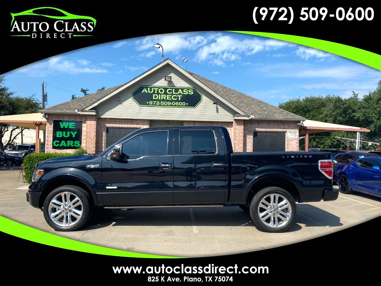 """Ford F-150 2WD SuperCrew 139"""" Limited 2013"""