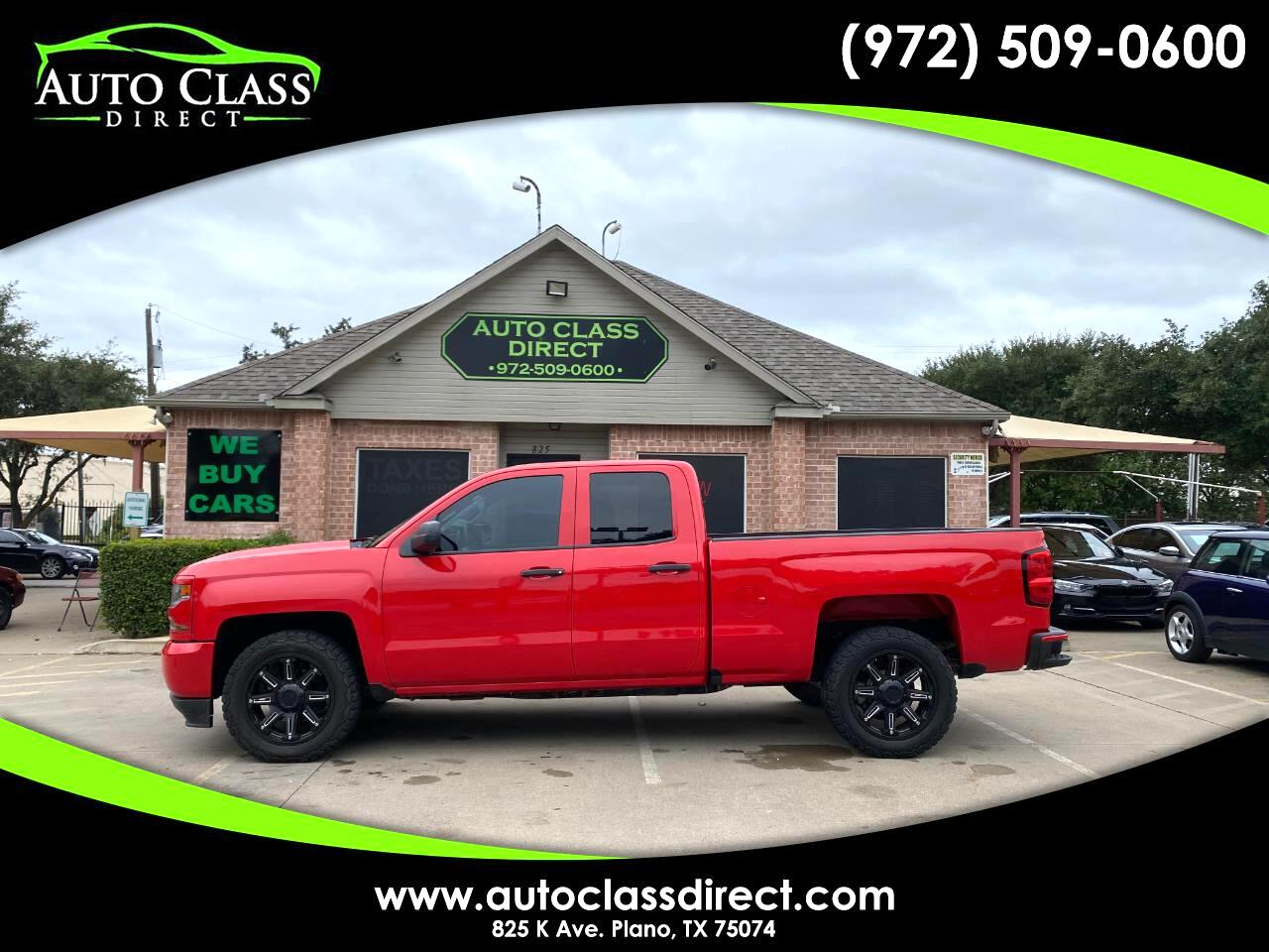 "Chevrolet Silverado 1500 2WD Double Cab 143.5"" Custom 2016"