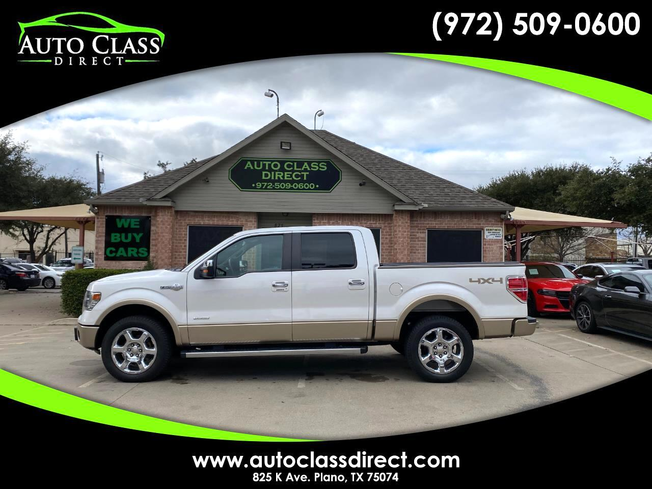 """Ford F-150 4WD SuperCrew 139"""" King Ranch 2014"""