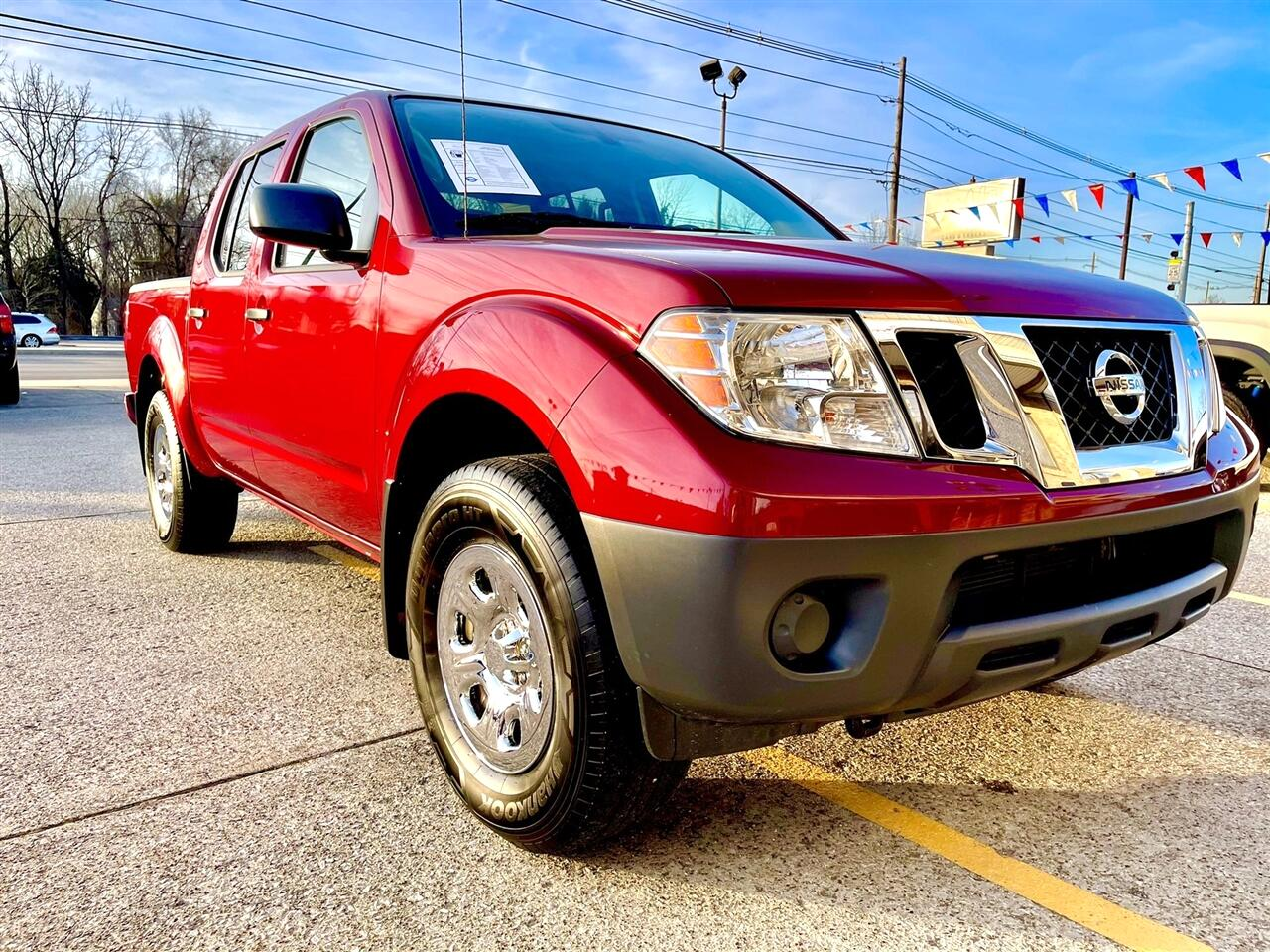 Nissan Frontier Crew Cab 4x4 S Auto 2018