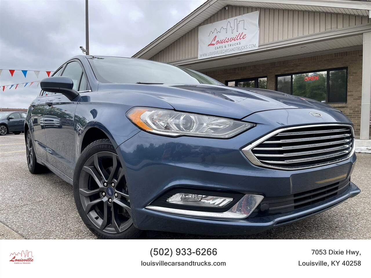 Ford Fusion SE FWD 2018