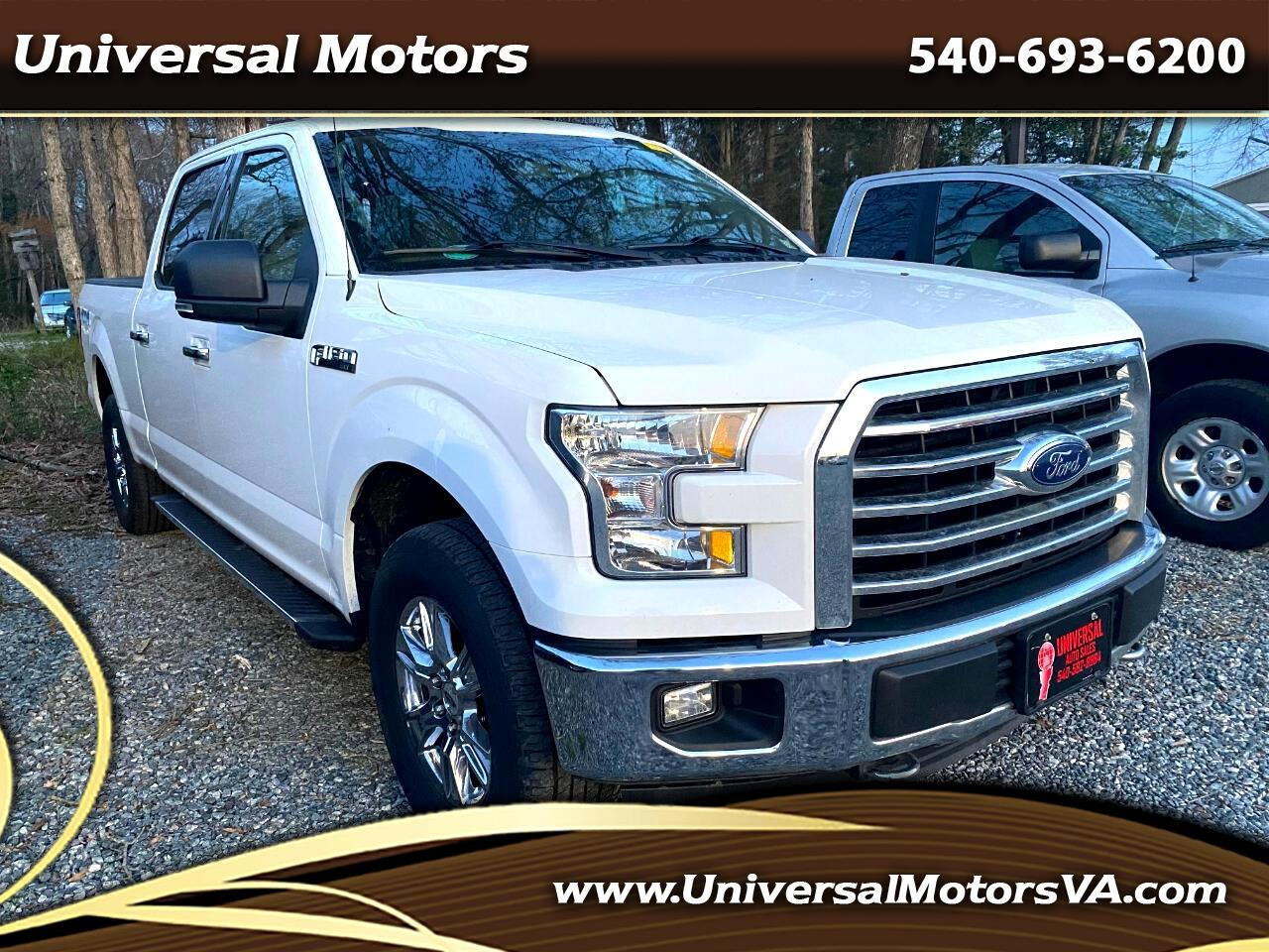Ford F-150 King-Ranch SuperCrew 5.5-ft. 4WD 2016