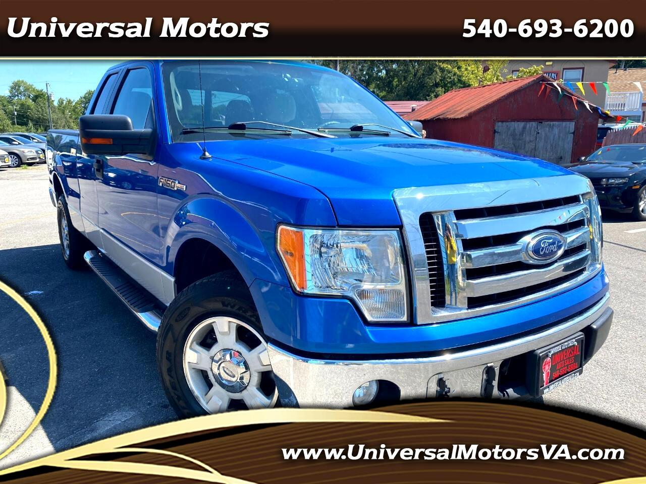 Ford F-150 XL SuperCab 8-ft. Bed 2WD 2010