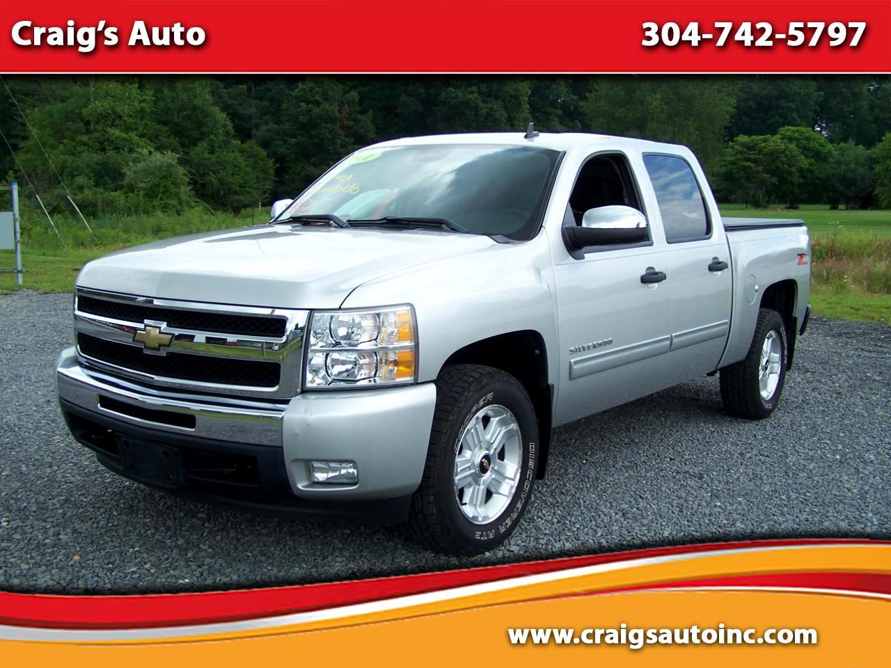 """Chevrolet Silverado 1500 2WD Crew Cab 143.5"""" LT 2011"""