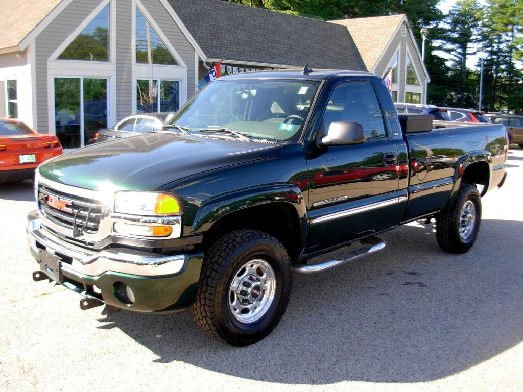 GMC Sierra 2500HD SL Long Bed 4WD 2006