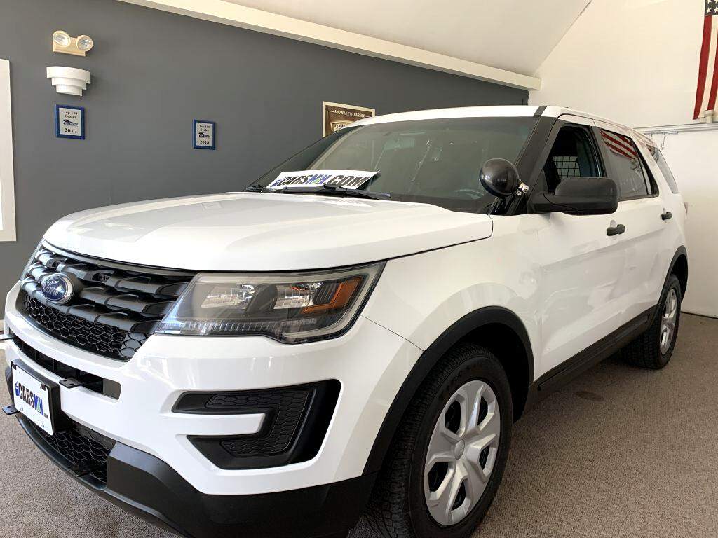 Ford Explorer Police 4WD 2016