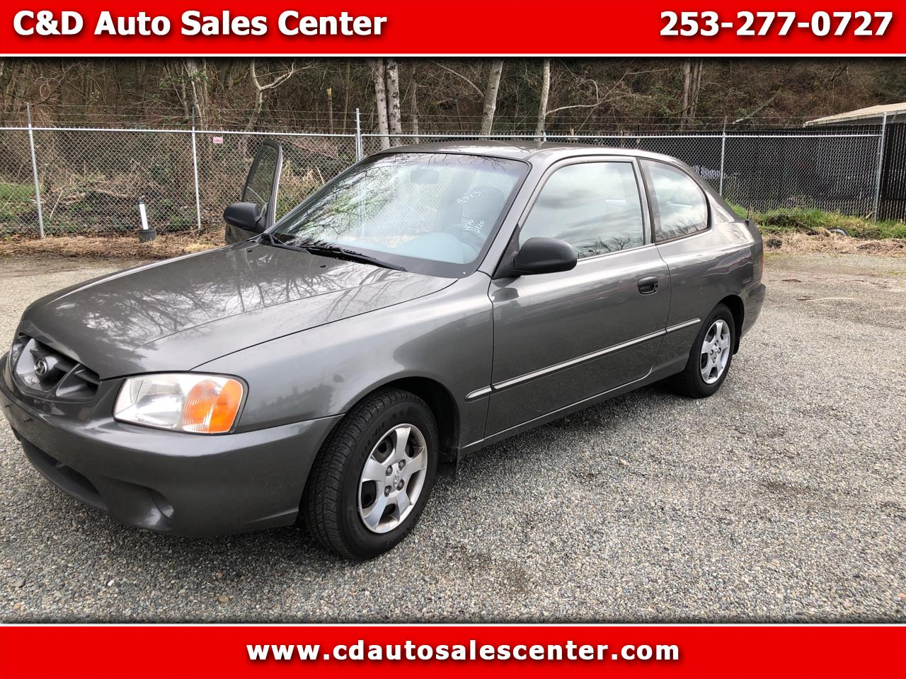 used 2002 hyundai accent gs for sale in kent wa 98032 c d auto sales center c d auto sales center