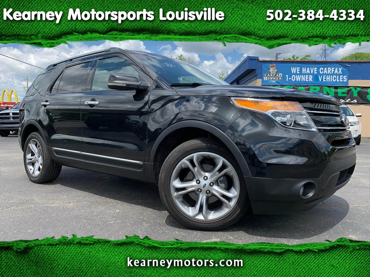 Ford Explorer 4WD 4dr Limited 2012