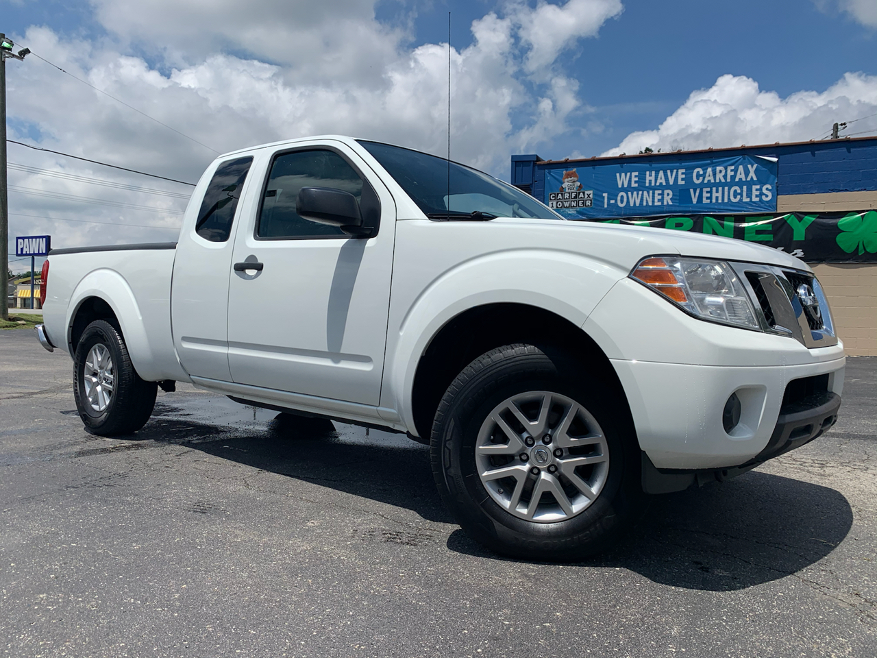 Nissan Frontier 4WD King Cab Auto SV 2015