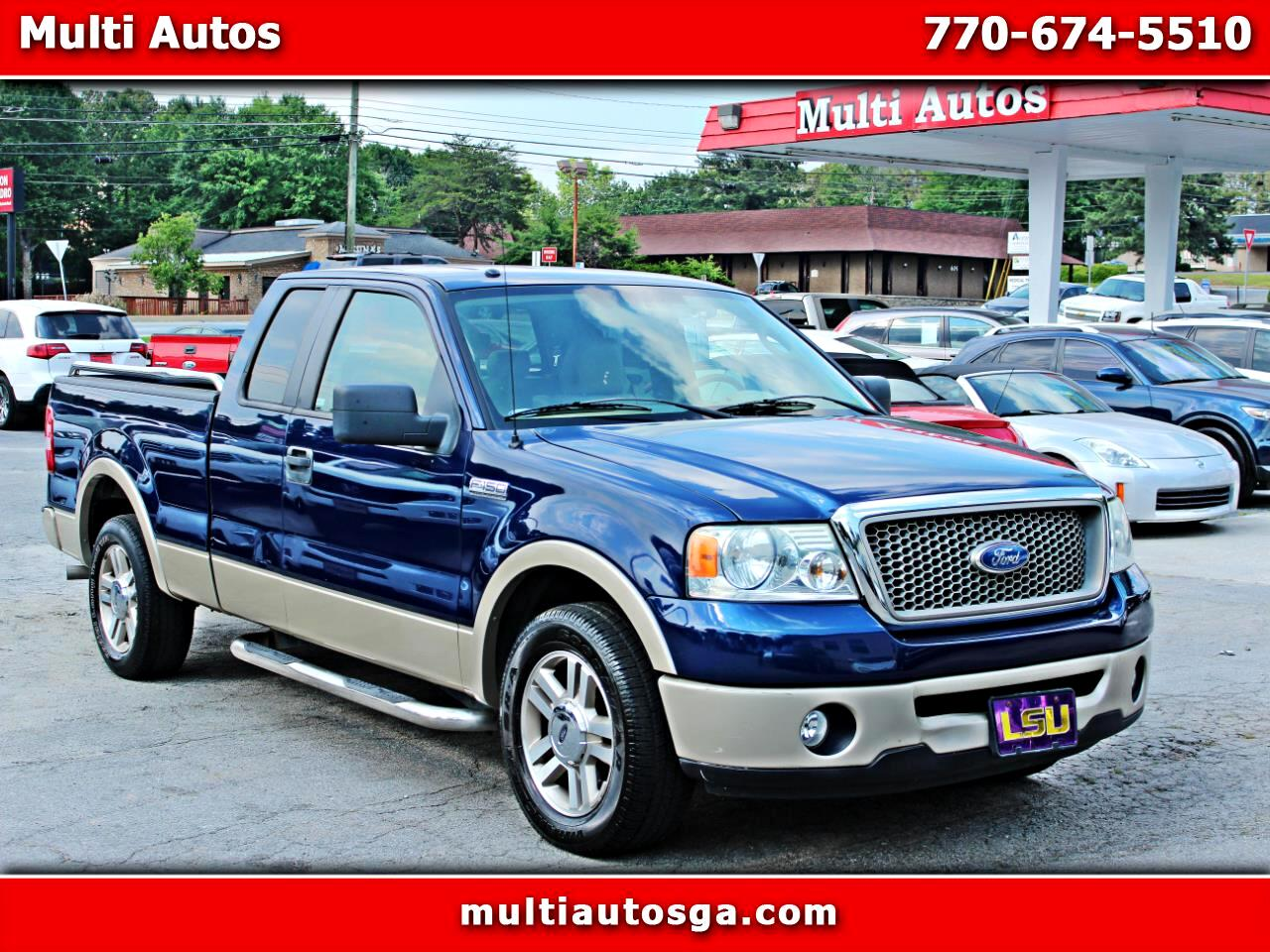 Ford F-150 Lariat SuperCab 2WD 2008