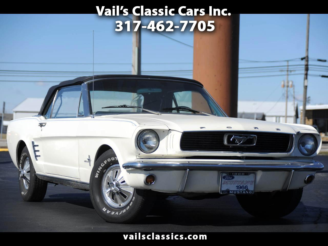 Ford Mustang 2dr Convertible 1966