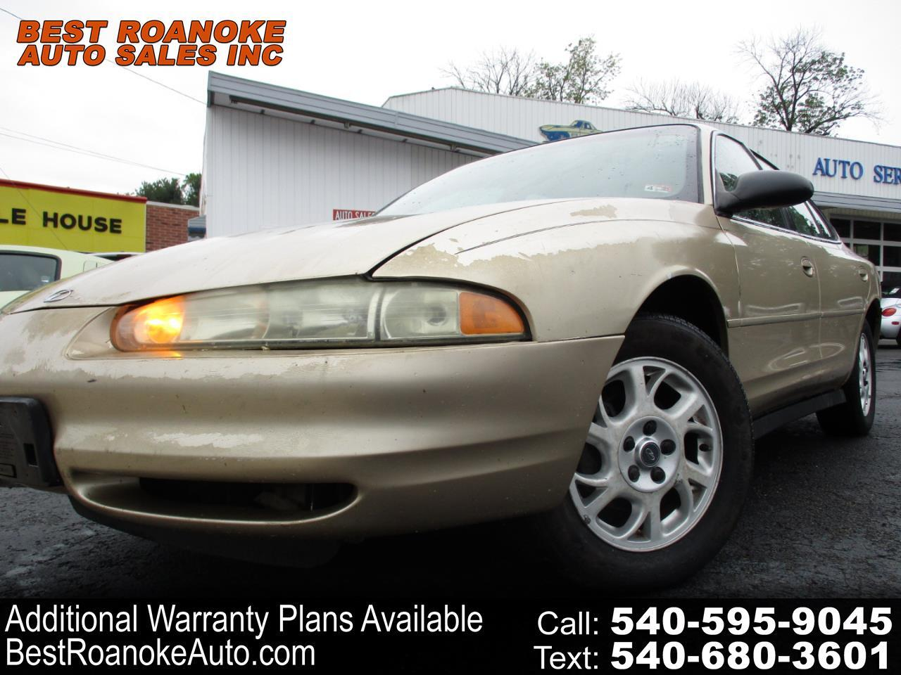 2000 Oldsmobile Intrigue 4dr Sdn GX