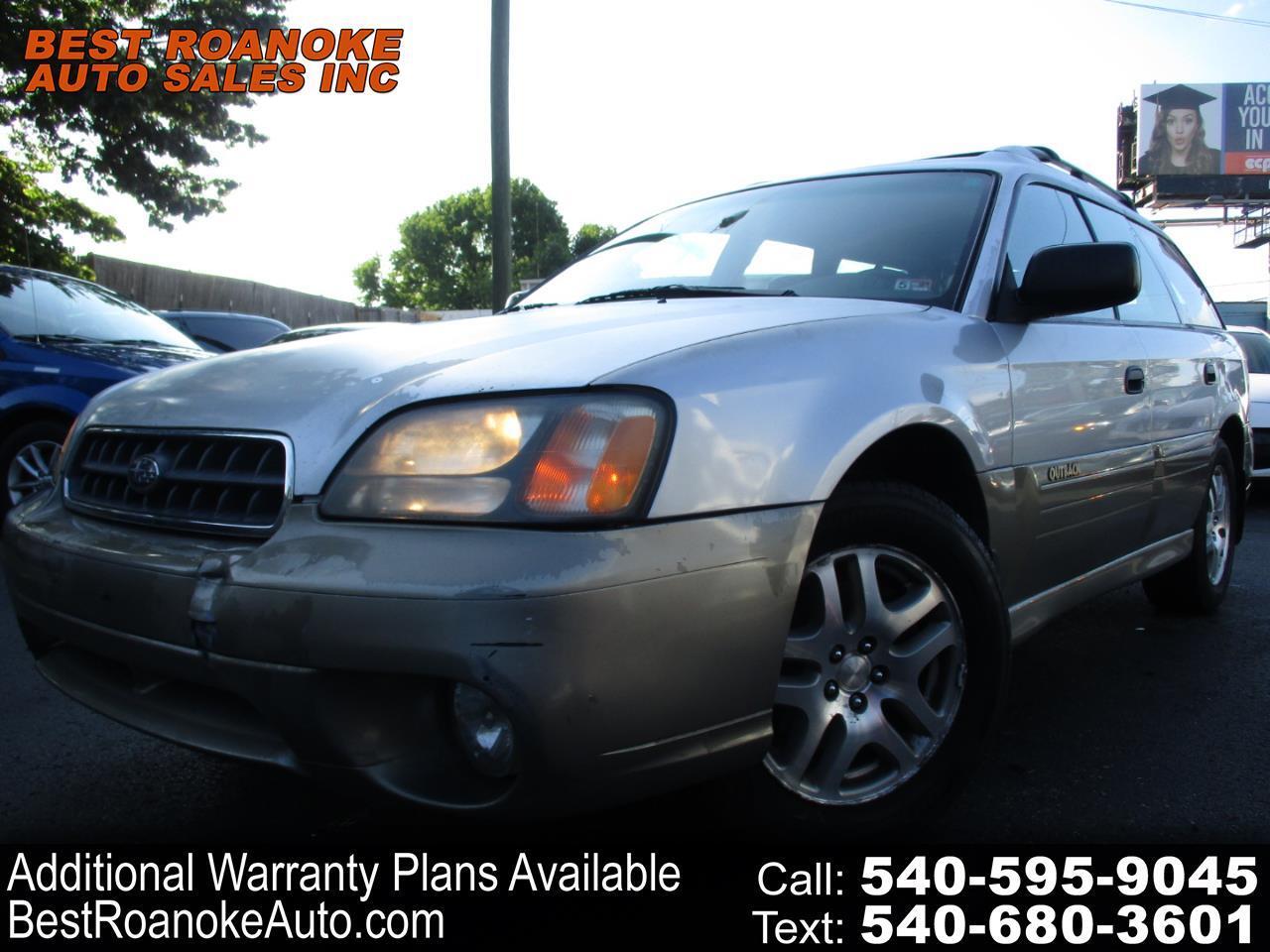 2003 Subaru Legacy Wagon 5dr Outback Auto