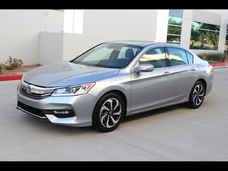 Honda Accord EX-L V-6 Sedan 6-Speed with Navigation 2017