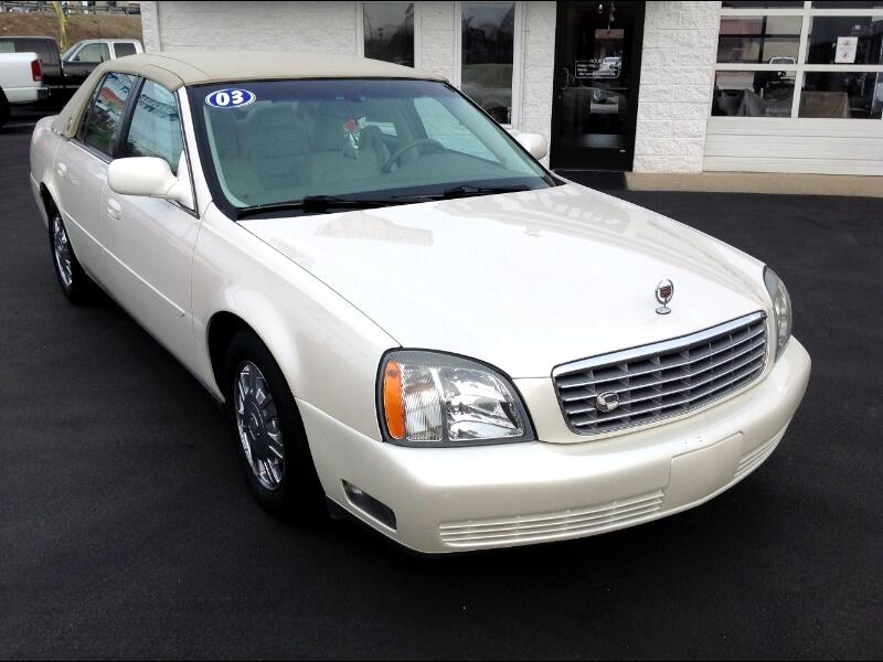 Cadillac DeVille 4dr Sdn 2003